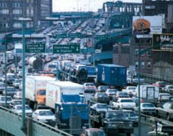 地下化以前の渋滞するCA