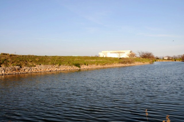 百間川の治水施設群-一ノ荒手、二ノ荒手、米田の旧堤防、大水尾の旧堤 ...